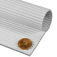 "White Corrugated Paper Sheets 19 5/8"" X 27 1/2"" | Quantity: 10"