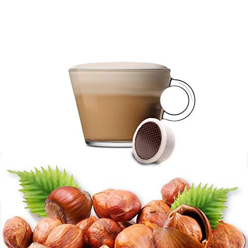 Nocciolino 50 Capsule Compatibili Lavazza Espresso Point - Cialde alla Nocciola - Caffe Kickkick