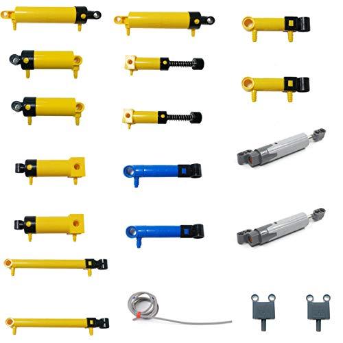 HZYM Technik Ersatzteile Set, Technik Teile Luftpumpe, Schubstange, Schalter, Kolben, Luftleitung Technik Steine...