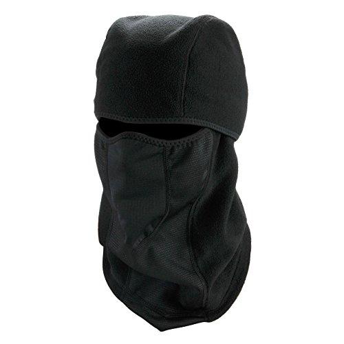 ACBungji Sturmhaube Schwarz Balaclava Motorradmaske Fahrrad Maske Winter Skimaske Skihaube Kopfhaube Warm Verdickung Fleece Gesichtshaube