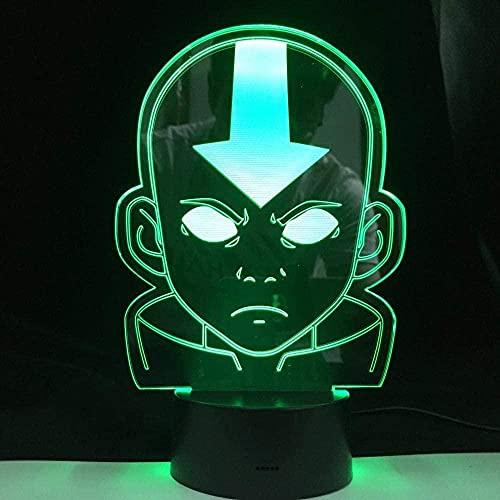 Illusion 3D luz LED colorido noche píldora con sensor táctil con control remoto linda decoración regalo para niños regalos de cumpleaños