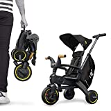 Liki Trike S5 - Nitro black tricycle 5 in 1