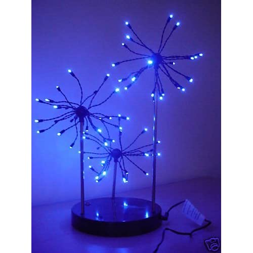 Christmas Concepts® Stunning! 72 Blue Led Light Funky Firework Lamp- Home Or Christmas Decoration