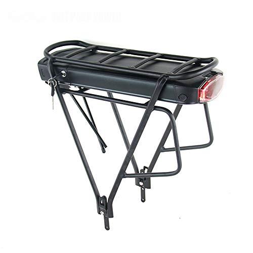 SHIJING Cargo vélo électrique 36V 10Ah / 13Ah Lithium ION pour 36V 8FUN BBS01 BBS02 E-Bike Batterie avec Porte-Bagages