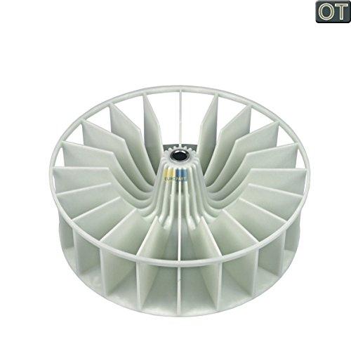 ORIGINAL Bosch Balay Constructa Siemens Neff 264487 00264487 Lüfterrad Umluft Ventilator Gebläseflügel Gebläse Ø 159mm Wäschetrockner Trockner Trocknerautomat auch Quelle