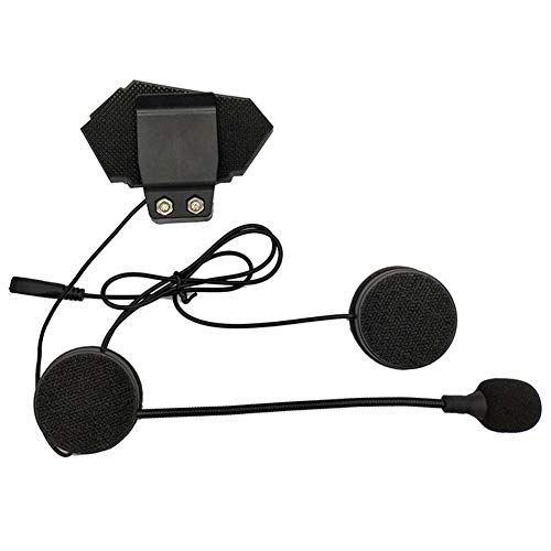 Helm-Kopfhörer Bluetooth Motorrad Headset V4.2 Bluetooth Gegensprechanlage Motorrad Kopfhörer Rauschunterdrückung Mikrofon Mikrofon