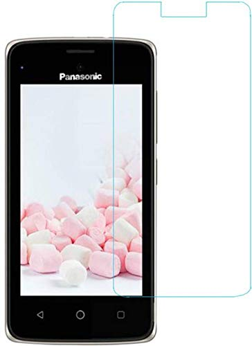 DARSHILGLOBE Anti-Fingerprint Hammer Proof Impossible Screen Protector [Not a Tempered Glass, 10x togher then normal glass] Screen Guard with easy installation kit for Panasonic T44 Lite