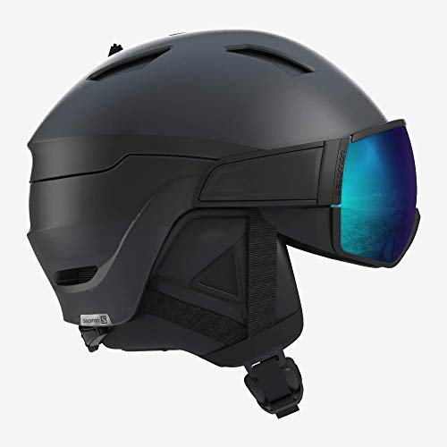 SALOMON Men's DRIVER S Helmets, Black, Large