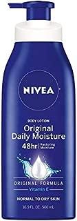Nivea Original Daily Moisture Body Lotion 16.9 oz (Pack of 4)