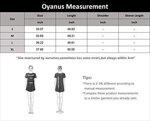 OYANUS Womens Off The Shoulder Ruffles Pockets Dress Side Split Maxi Dresses Navy M
