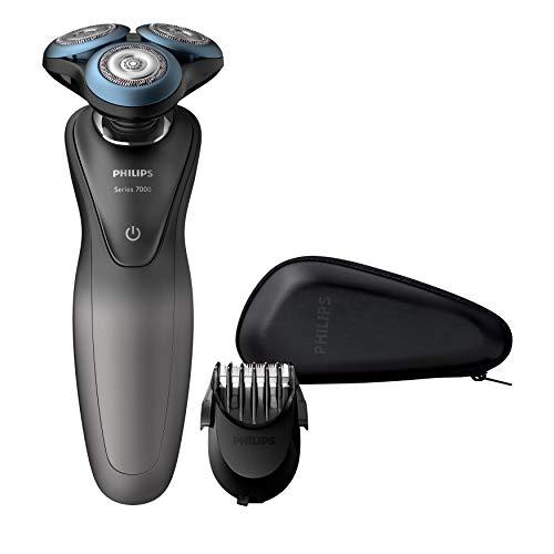 Philips Serie 7000 S7960/17 - Máquina de afeitar con cuhillas confort para la piel sensible, uso en...