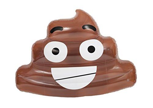 NPW Pop Fix Schwimm-Emoji Kackhaufen