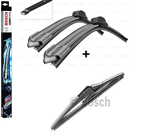 BOSCH Scheibenwischer Set für vorne + hinten Bosch AeroTwin A012S und H180 (3397014095 Längen: 500/360 mm Aufnahme Nr. 7 und 3397011963 Länge: 180 mm) für Smart Fortwo Coupé [453] ab Baujahr 11/2014