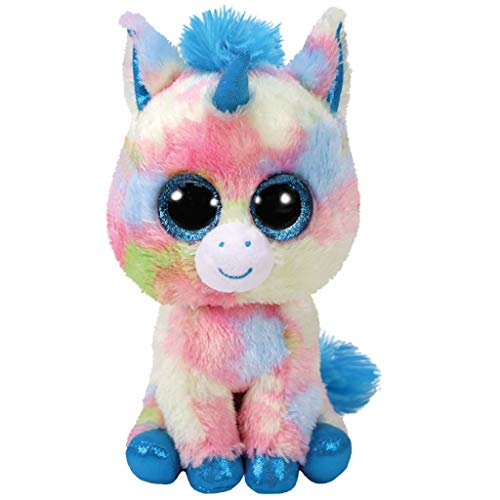 TY- Beanie Boo\'s Blitz, unicornio, Color azul, 23 cm (United Labels Ibérica 37261TY) , color/modelo surtido
