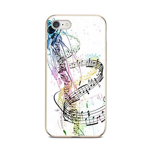 Notas musicales violín música clásica suave cubierta para Huawei P8 P9 P10 P20 P30 P Smart 2019 Honor Mate 9 10 20 8X 7A 7C Pro Lite-images 4-Para Huawei P20 Pro