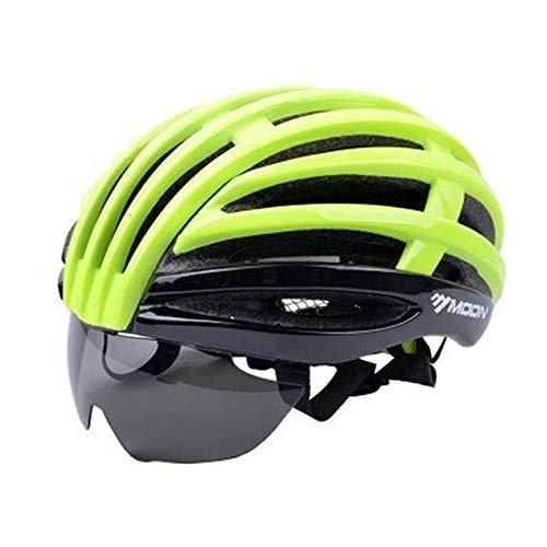 ZSR-haohai Accesorios para Bicicletas Casco de Ciclismo Ultraligero, una Bicicleta de montaña...