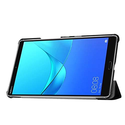 Hülle für Huawei MediaPad M5 8.4 Zoll Schutzhülle Tablet Smart Cover mit Auto Sleep/Wake, Standfunktion und Touchpen Schwarz - 6