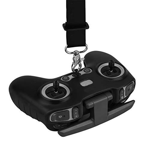 DJFEI FPV Combo Drone Fernbedienung Schutzhülle mit Lanyard, Silikon Schutzhülle Staubdichte Abdeckung Fall Haut Fernbedienungsschutz mit Halsband Lanyard für DJI FPV Combo Drone (B)