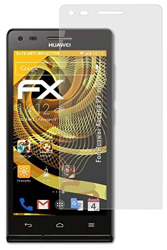 atFolix Panzerfolie kompatibel mit Huawei Ascend P7 Mini Schutzfolie, entspiegelnde & stoßdämpfende FX Folie (3X)
