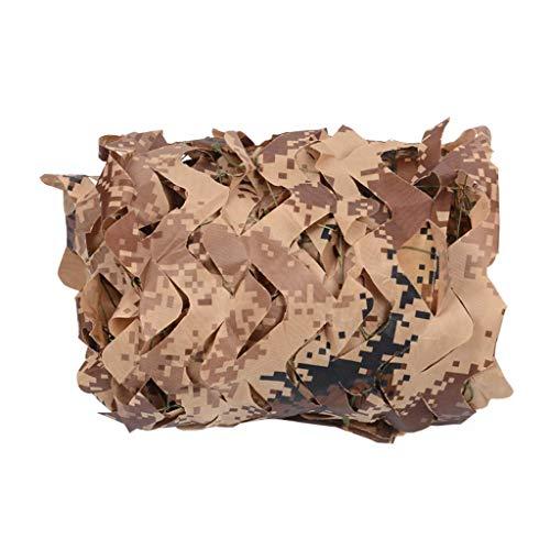 ZHJBD Camouflage-Armee-compensatievest, camouflage, Oxford-stof, autoafdekking, voor jacht, rolluiken, net 3x4m