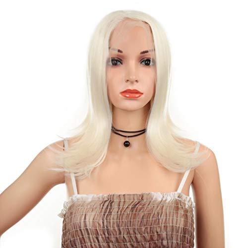 WIG Brown Sugar Hair Blend Soft Swiss Lace Full Lace Blanc
