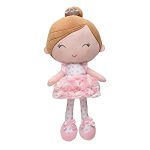 Baby Starters Plush Snuggle Buddy Baby Doll, Soft Annette Doll