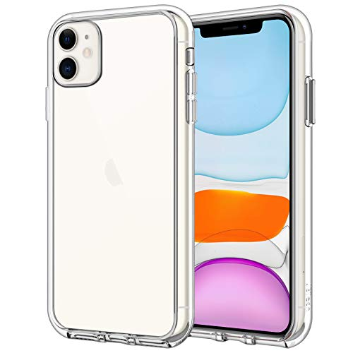 JETech Case for iPhone 11 (2019) 6.1-Inch, Shock-Absorption Bumper Cover, Anti-Scratch Clear Back (HD Clear)