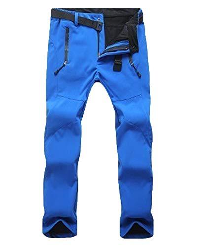 Unisex Pantalones De Esqui Snowboard Trekking Hombre Decathlon Montaña Azul Zafiro S