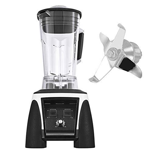 BAIVIN Mezclador de Caballos de Fuerza de Gran Potencia Grado Profesional Mezclador de 2L batido de Leche de Soja Cocina cafetería