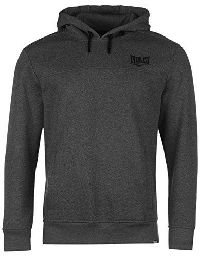 Everlast Kapuzenpullover Hoodie Hoody Sport Sweater Herren NEU bis 4XL (L, Charcoal)