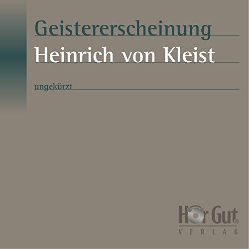 Geistererscheinung audiobook cover art