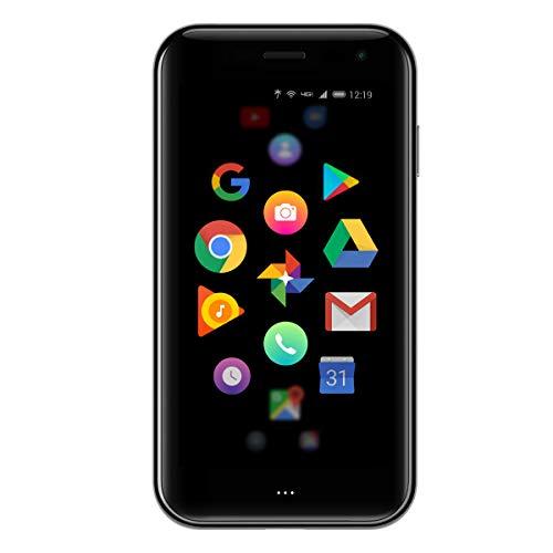 Palm Titanium Smartphone – Nero da 3,3' FHD, 4G LTE, 12 MPx + LED Flash e frontale 8 MP, 3 GB di RAM, 32 GB di memoria, batteria 800 mAh, IP68, Versione Italia