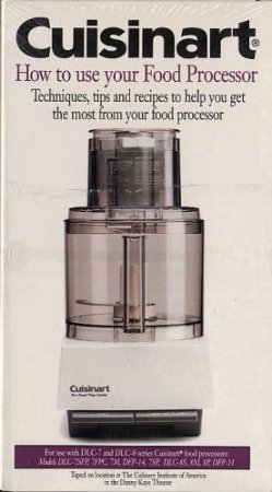 Cuisinart How to Use Your Food Processor VHS