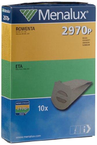 Menalux 900196695 2970P Sacchetti per Scope Rowenta Slim Line