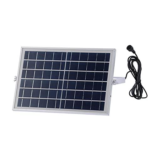 Panel solar, cargador de batería solar portátil del panel solar policristalino de 6V 10W para la carga del ordenador portátil del barco de RV del coche