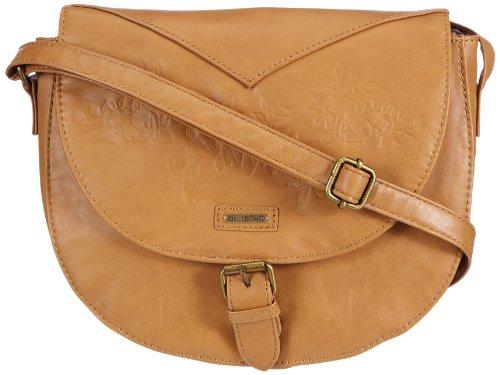 Billabong Bayside Bag N9BG02, Damen Henkeltaschen, Beige (Goldie), 21x24x10 cm (B x H x T)
