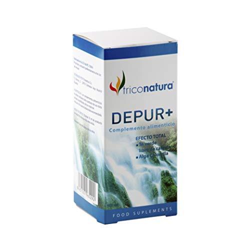 Detox adelgazante Diurético Natural Depurativo Hígado Natural Drenante Elimina y Desintoxica Toxinas Antioxidante 500ml DEPUR+. Fórmula con Te verde para adelgazar rapido para hombre y Mujer.