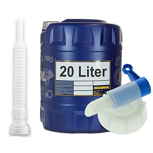 MANNOL 20 Liter, Legend Ultra 0W-20 229.71 MOTORÖL + HAHN + Schlauch