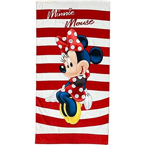 SETINO MIN-H-TOWEL-112 Disney Minnie Maus Strandtuch Badetuch 70cm x 140cm