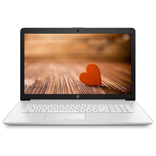 "Newest HP 17.3"" HD+ Touchscreen Laptop, Intel Quad-Core i5-1035G1 Processor, 16GB Memory, 1TB SSD, DVD-RW, Webcam, Numeric Keypad, WiFi, HDMI, Windows 10, Silver"