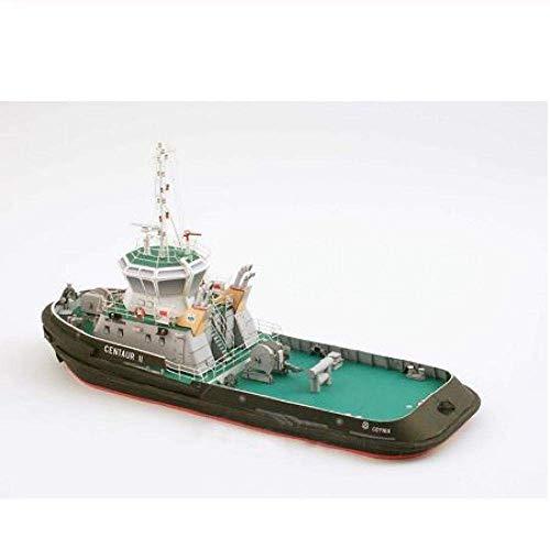 XIUYU Wohnzimmerdekorationen Chem Segelboot Modell 1: 100 Papiermodell Schiffsmodell handgemachte DIY Papier-Kunst Segelboot