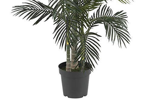 Nearly Natural 5289 6.5ft. Golden Cane Palm Silk Tree,Green