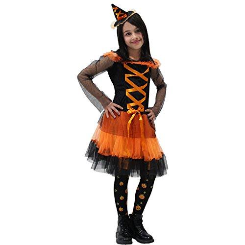 Pegasus Vestito Costume Maschera di Carnevale Halloween - Strega di Halloween a - Taglia 3/4 Anni - 87 cm
