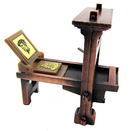 TG,LLC Treasure Gurus 1:48 Scale Metal Printing Press Die Cast Diorama Accessory Desk Pencil Sharpener