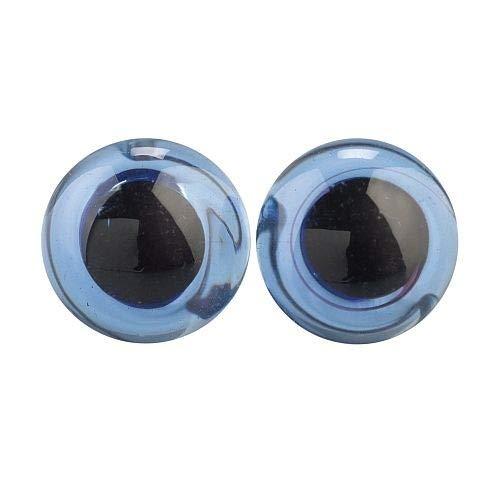 EFCO- Tieraugen ø 10 mm 2 Stücke blau Verkaufseinheit
