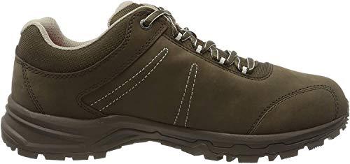 Mammut Nova Iii Low Gtx®, Chaussures de Randonnée Hautes femme - Gris (Bark-White 0627), 38 2/3 EU