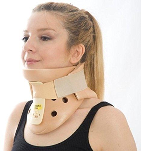 Philadelphia Halskrause/Halsschiene, anatomisch geformt mit hinteren und vorderen Trägern aus Plastazote 12 mm, Begrenzt die seitliche Flexion, Extension und zervikale Rotation