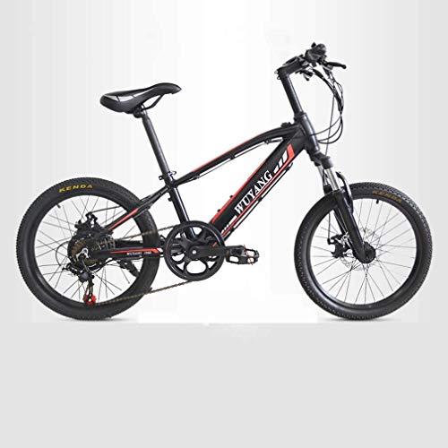 Ligero, 7 Velocidad de bicicleta eléctrica de montaña, 36V batería de litio 6AH, Bicicletas 240W Playa Nieve, aleación de aluminio de bicicletas estudiar adolescente, de 20 pulgadas Ruedas Liquidación
