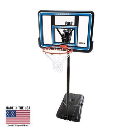 Learn More About Lifetime Adjustable Portable Basketball Hoop (44-Inch Polycarbonate), 90023