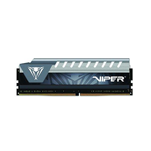 Viper Elite DDR4 2666 8GB (1x8GB) C16 Memoria Gaming RAM XMP 2.0 Nero/Grigio